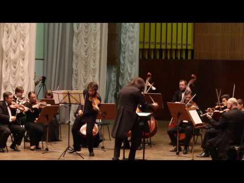 """P. Vasks Violin Concerto """"Distant Light"""" Marc Bouchkov - Violin, Evgueny Bushkov - Direction"""