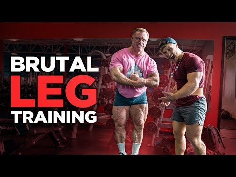 Brutal Leg Day with The Mountain Dog... (Extremely Painful)