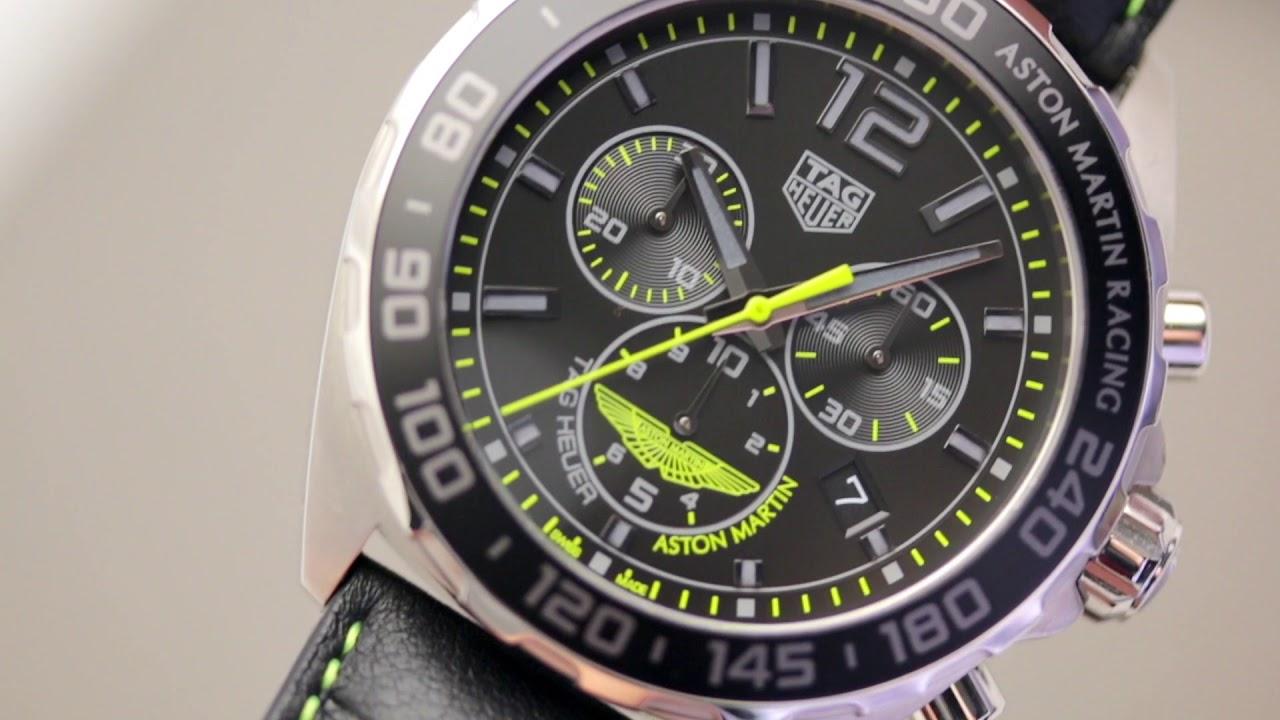 This Tag: Обзор хронографов TAG Heuer Aston Martin