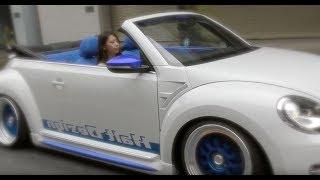 VWザ・ビートルカブリオレ  HALT DESIGN  & VW up! ワイドボディ  AUDI VW PRESS