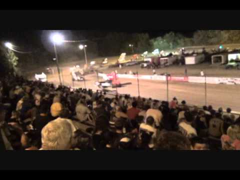 ASCS Sprints At Double X Speedway-7-24-11-Video.wmv