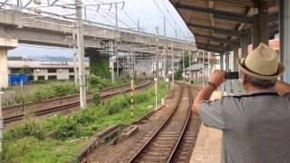 曽根田駅から「D51」蒸気機関車