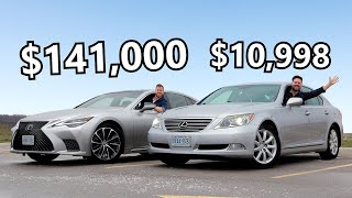 2021 Lexus LS 500 vs 2009 Lexus LS 460 // Born To Be Bargains