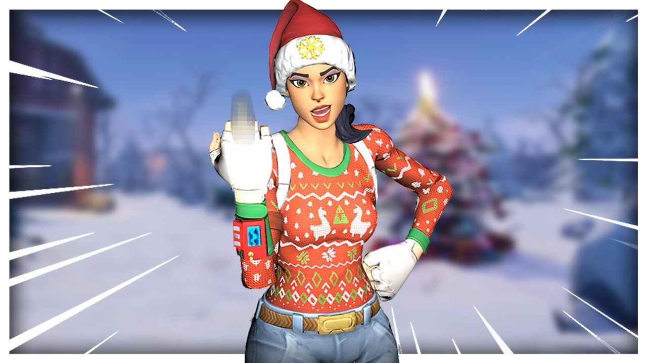 Soo Fortnite Brought Back My Only Rare Skin Nog Ops Tribute