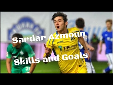 Sardar Azmoun • Work Hard • Skills and goals • Iranian messi
