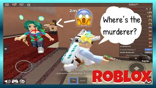 I DIDN'T SEE THE MURDERER!! Playing with TurtlesWearRaincoats! (Roblox Murder Mystery 2)