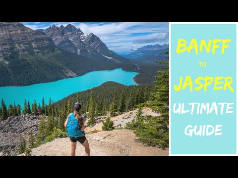 Icefields Parkway Top Sights (2020): Jasper And Banff National Parks 4K