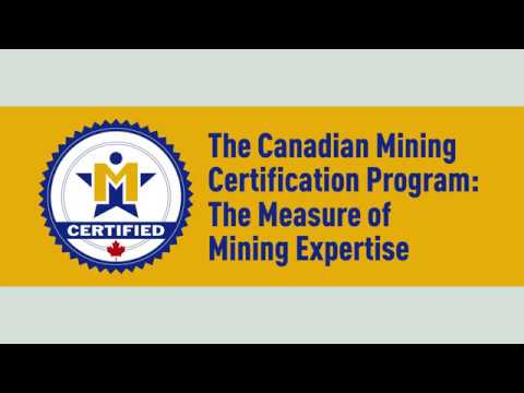Canadian Mining Certification Program (CMCP) - Employer Benefits