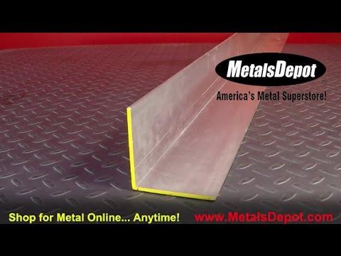 Metals Depot® - About 6063 Aluminum Angle