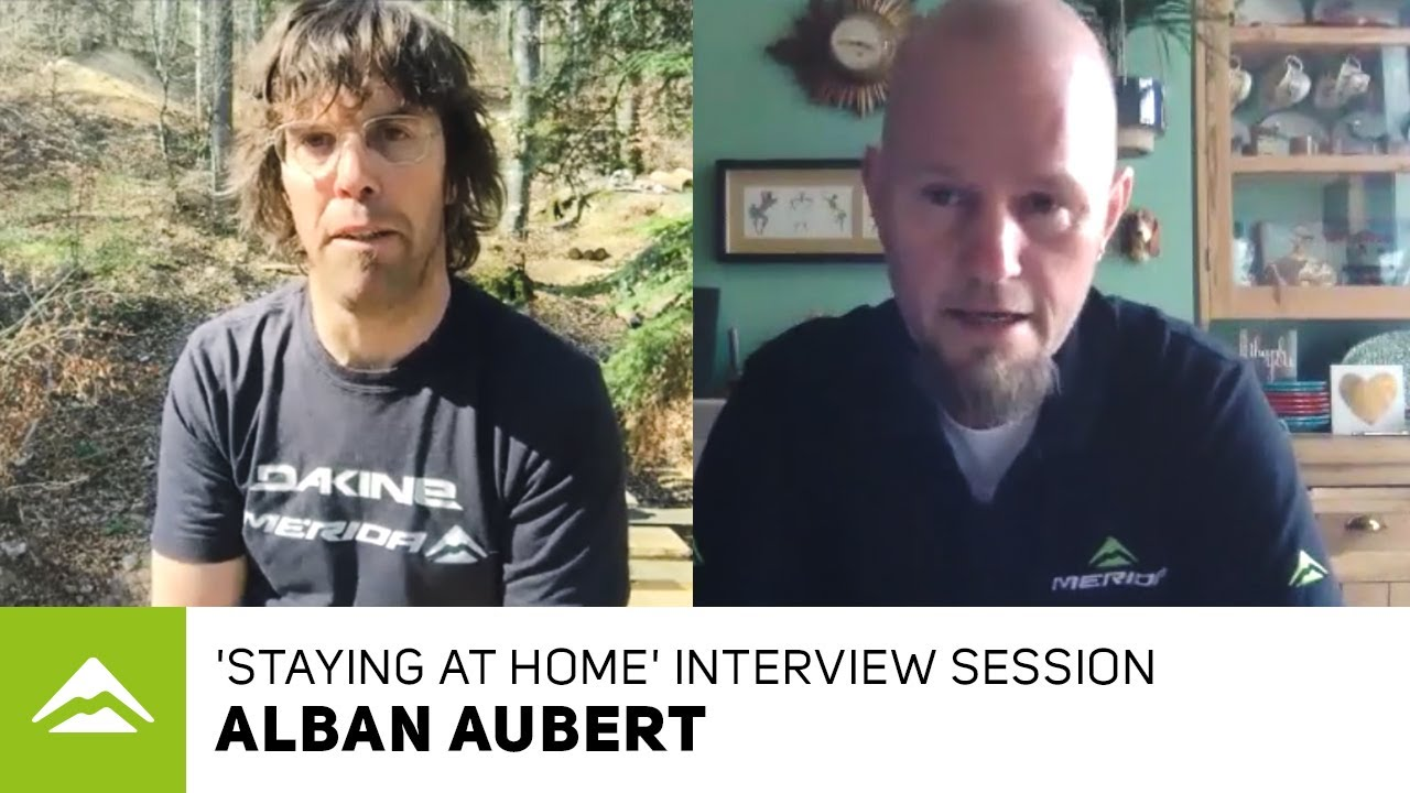 'Staying at home' interview session - Alban Aubert
