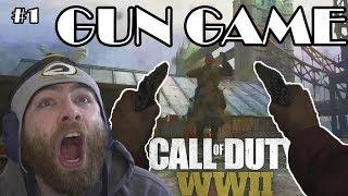 GUN GAME LIVE #1 - Call of Duty WW2 Gun Game Gameplay