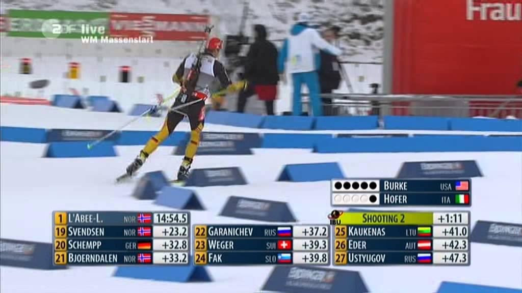 Biathlon Wm Massenstart