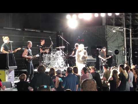 Judah & The Lion - Suit and Jacket @ DTE Energy Music Theatre (July 23, 2017)