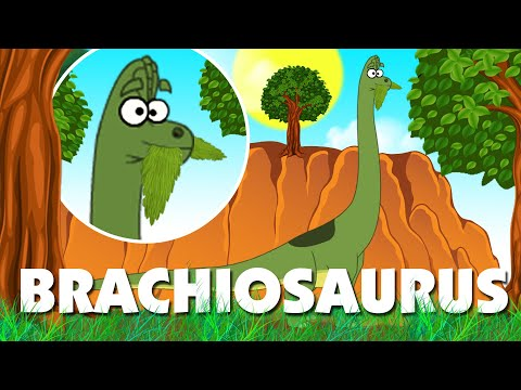 Dinosaur Cartoons for Children | Brachiosaurus & More | Learn Dinosaur Facts | I