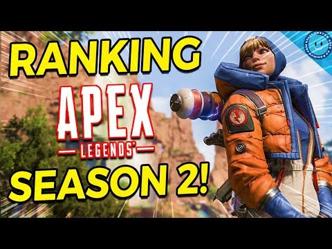 Ranking and Explaining Every Change In Apex Legends Season 2! Wattson, L-Star, Ranked and More!