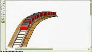 Drawing a Roller Coaster on Paint - part II