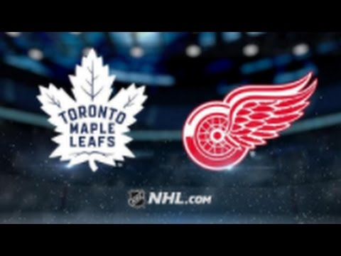 Toronto Maple Leafs vs Detroit Red Wings NHL Game Recap