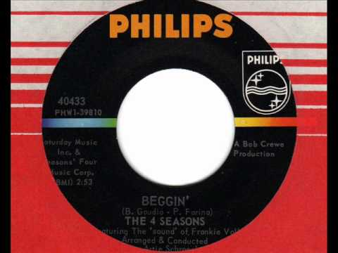 FOUR SEASONS  Beggin'  60s Northern Soul