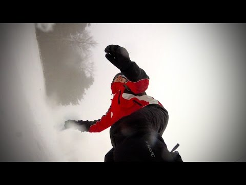 Snowboard with GoPro HD Hero 2 [Test]