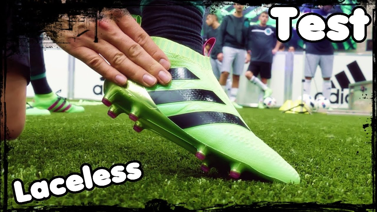 Test: Adidas ACE16+ Purecontrol at the Adidas HQ YouTube