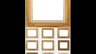 Como rellenar huecos de un cuadro o marco para Fotografia