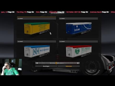 ETS2 / Live / SP / Mod Prefab / Trailer Kraka Working Floor Edition Scandinavia Style by Kast