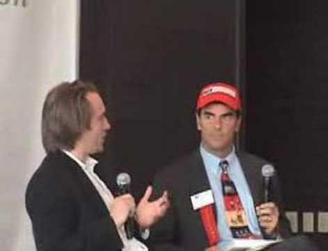 YouTube's Chad Hurley & Tim Draper at BizWorld Lunch