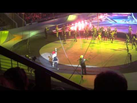 Цирковое представление Запашных КУКЛА