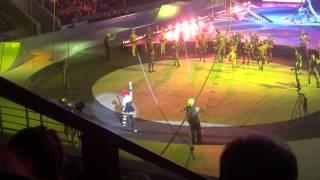 Цирковое представление Запашных