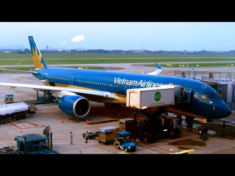 TRIP REPORT | Vietnam Airlines A350 (ECONOMY) | Ho Chi Minh to Hanoi | with Medical Emergency...