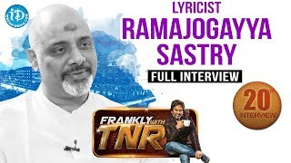 Sardaar Gabbar Singh || Ramajogayya Sastry Interview || Frankly With TNR || Talking Movies # 149