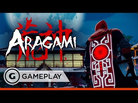 Aragami Gameplay - 20 Mins of Tenchu, Mark of the Ninja-inspired Stealth Game