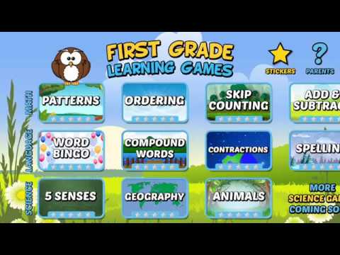 First Grade Learning Games - Apps on Google Play