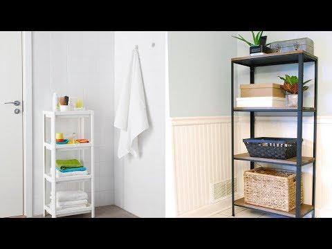 21 Ikea Bathroom Storage Hack Youtube