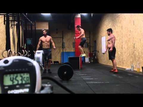 Unmatched contest Wod 1 Team CrossFit Agen