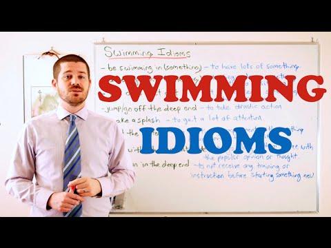 Idiom Series - Swimming Idioms