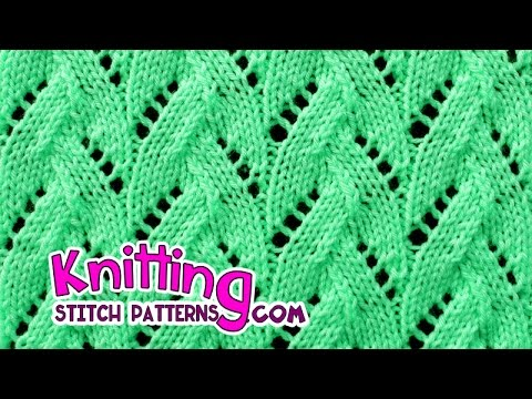 Faux Braid Lace Knitting 20 Youtube