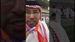 خالد الزيد لاعب الشباب والفيحاء كلمته بعد صعود الفيحاء لدوري جميل