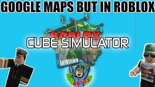 Google Maps but in Roblox... | Roblox Cube Controller With Railroad,Preserver,2000