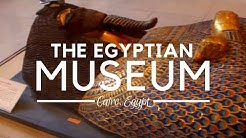 The Egyptian Museum in Cairo; Ancient Egyptian Antiquities