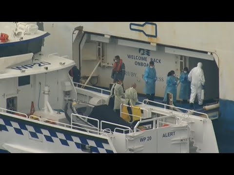 Authorities Confront Stranded Ruby Princess Cruise Ship