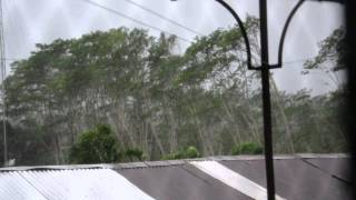 typhoon Bopha (Pablo) -raw vid. Agusan del Sur Philippines , 9:30 am dec 4 2012