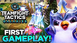 NEW AMAZING ULTS! TFT GALAXIES SET 3 FIRST GAMEPLAY | Teamfight Tactics
