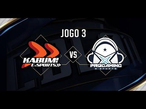Progaming x KaBuM (Jogo 3 - Dia 2) - Série de Promoção