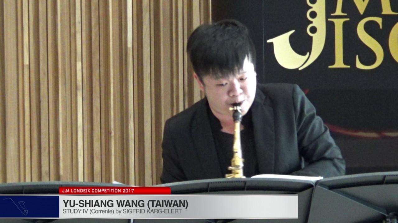 Londeix 2017 - Yu-Shiang Wang (Taiwan) - IV Corrente by Sigfrid Karg Elert