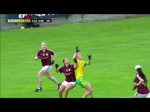 Ladies Gaelic Football Highlights - Donegal v Galway 01/08/2016