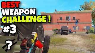 BEST WEAPON CHALLENGE!!! | BEST GAMEPLAY WITH SHOTGUNS | PUBG MOBILE