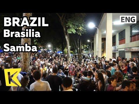 【K】Brazil Travel-Brasilia[브라질 여행-브라질리아]삼바 리듬에 하나되는 사람들/Unesco/Praca dos Artistas/Artist/Samba/Music