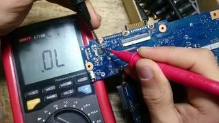 Toshiba Satellite C850 / MOSFET Diaqnostika /INFO