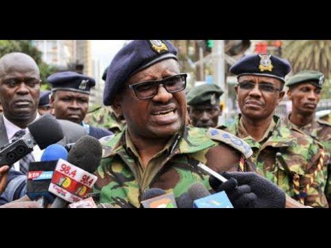 I will take you to Kamiti, Koome warns those spreading PEV propaganda